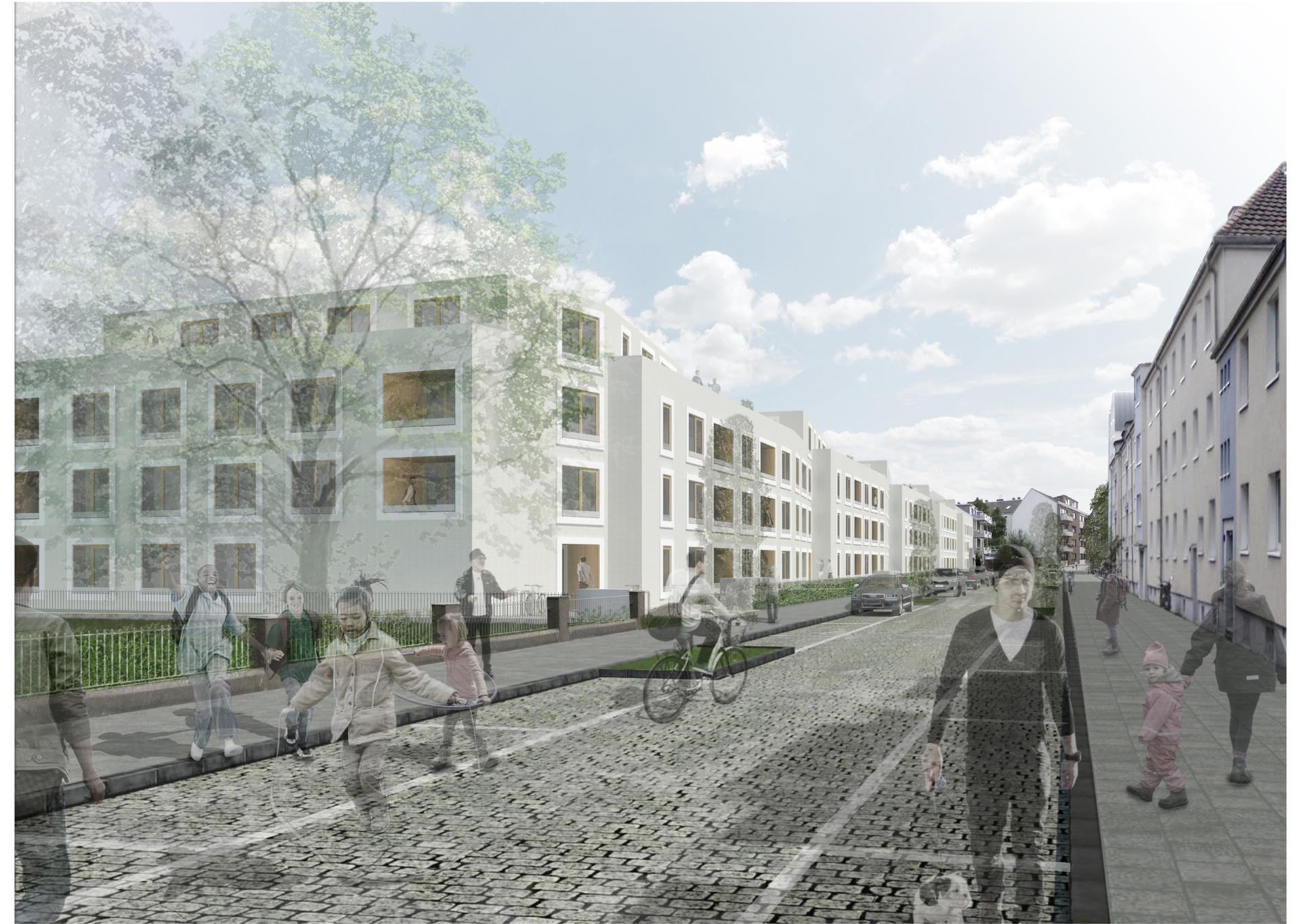 Wettbewerb Mannsfelder Straße