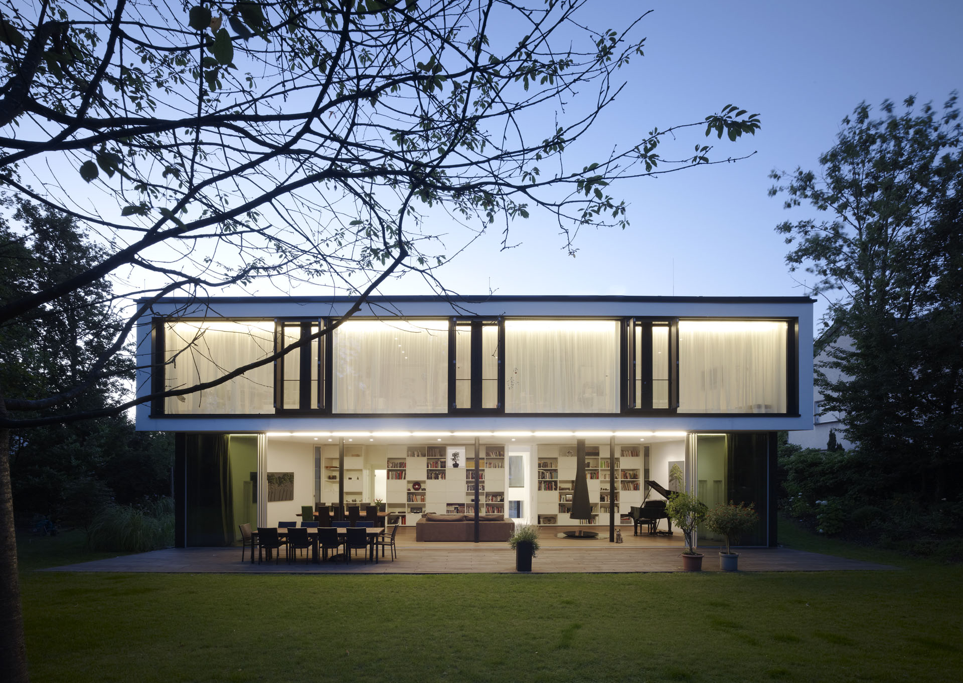haus l s duda architekten. Black Bedroom Furniture Sets. Home Design Ideas