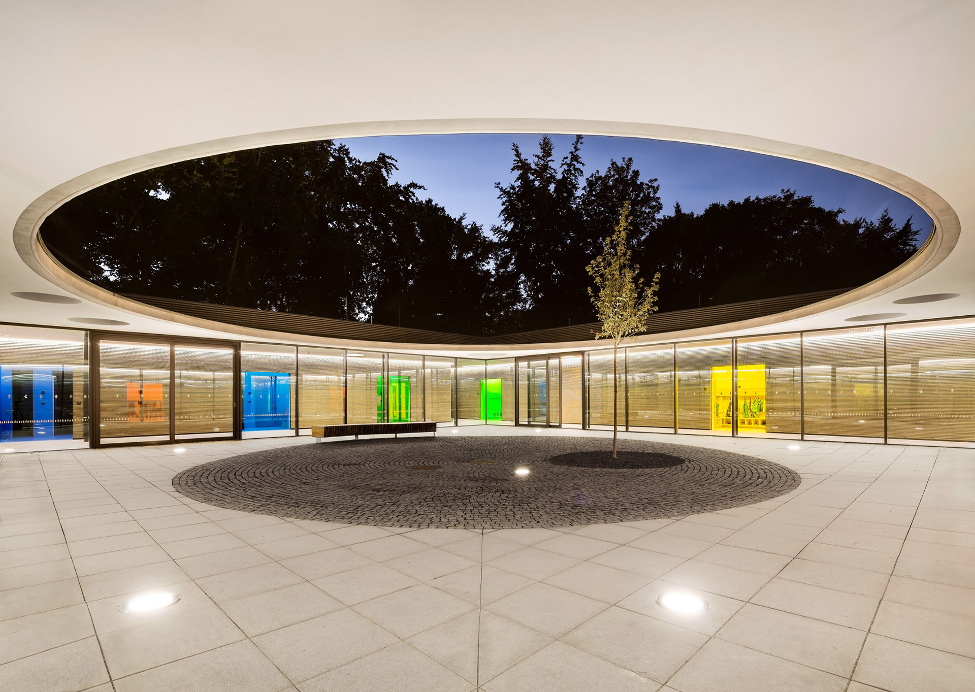 Fußbodenbelag Kita ~ Neubau kita pfarrzentrum st agnes in köln duda architekten